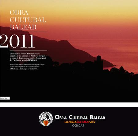 Portada Calendari OCB - 2011