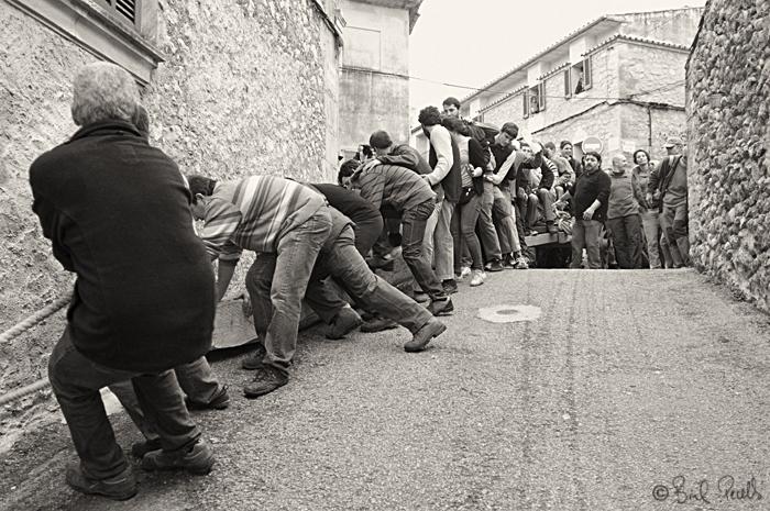 Sant Antoni, Pollença 1954.